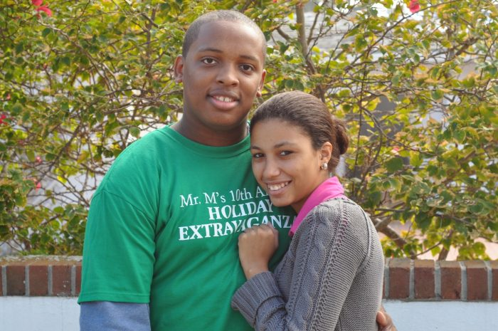 Angelique and Marvin